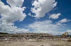 Big garbage heap Royalty Free Stock Photos