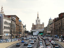 Big Garden (Bolshaya Sadovaya) street in Moscow Royalty Free Stock Photos