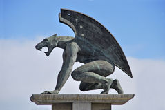 Big gargoyle Royalty Free Stock Photography