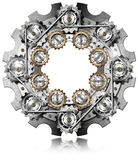 Big Gear with Small Gears Royalty Free Stock Photos