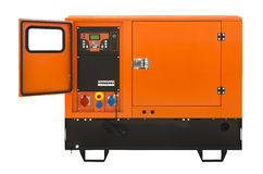 Big generator Royalty Free Stock Image