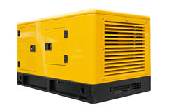 Big generator. On a white background Stock Images