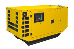 Big generator. On a white background Royalty Free Stock Image