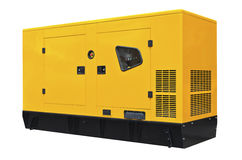 Big generator Stock Photo