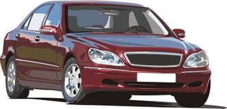Big german luxurious sedan Stock Photo