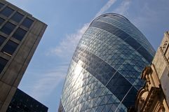 The Big Gherkin Royalty Free Stock Photography