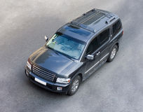Big giant suv full-size car Stock Image