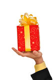 Big gift Stock Images