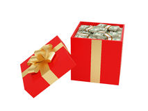 Big gift Royalty Free Stock Photos