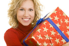 Big gift Royalty Free Stock Image