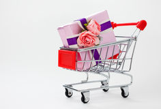 Big gift box Royalty Free Stock Photos