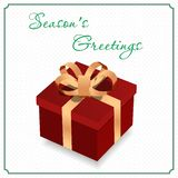 Big gift box Royalty Free Stock Photography