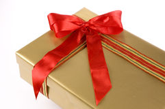 Big gift box Stock Photography
