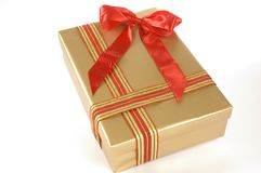 Big gift box Royalty Free Stock Image