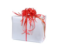 Big gift box Stock Images