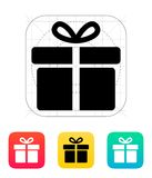 Big gift box icons on white background. Royalty Free Stock Images