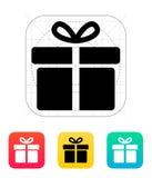 Big gift box icons on white background. Vector illustration royalty free illustration