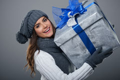 Big gift Royalty Free Stock Photography