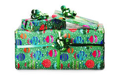Big giftbox Stock Images