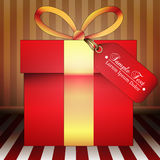 Big Giftbox Illustration Stock Photography
