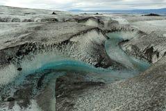 Big Glacier at Kverkfjoll, Iceland stock photo