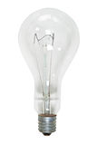 Big glass electric bulb Stock Photo