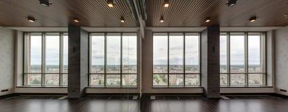Big glass window Stock Images