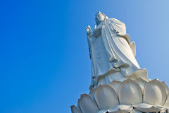 The Big Goddess Guan Yin Statue Stock Image