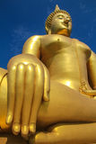 Big golden Budda Stock Images