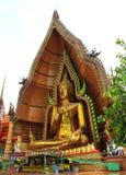 Big golden Buddha Stock Photos