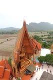Big golden Buddha beautiful in Wat Tham Suea Royalty Free Stock Images