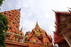 Big golden Buddha beautiful in Wat Tham Suea Royalty Free Stock Photography