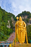 Big Golden Buddha in KL Royalty Free Stock Photo