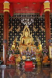 Big golden Buddha in Phuket Town, Thailand Stock Image
