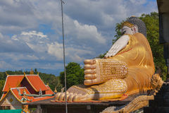 Big Golden Buddha statue Stock Photos
