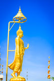 Big golden Buddha statue Royalty Free Stock Photography