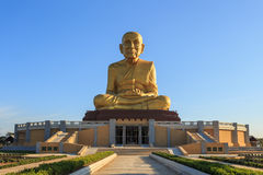 Big golden buddha statue, Thailand Royalty Free Stock Images
