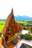 Big golden Buddha in temple, Thailand Royalty Free Stock Image