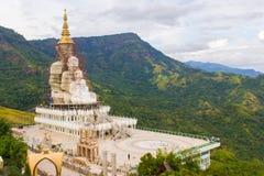 Big golden buddha under construction Stock Photo