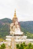 Big golden buddha under construction Royalty Free Stock Photo