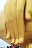 The Big Golden Buddha at Wat Muang royalty free stock photography