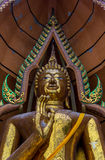 Big golden Buddha Royalty Free Stock Image