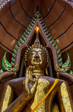 Big golden Buddha Stock Photo