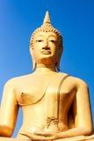 Big golden buddha Royalty Free Stock Photography