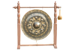 Big Gong with stand Royalty Free Stock Image