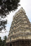 Big gopuram temple Stock Photography