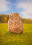 Big granite rock Stock Image