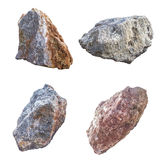 Big granite rock stones, isolated Stock Image