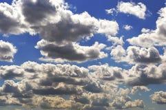 Big gray clouds Stock Photos