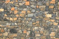 Big gray wall from stone bricks royalty free stock images